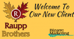 Press Release New Client Raupp Brothers Announcement