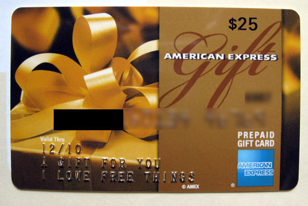 Win a 25 american express gift card bizarre marketing for American express business gift cards